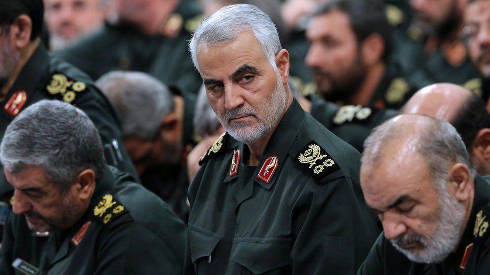 File photo of IRGC Quds Force commander Major General Qasem Soleimani (18 September 2016)