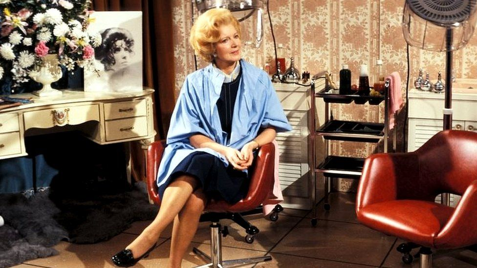 Janet Brown as Margaret Thatcher