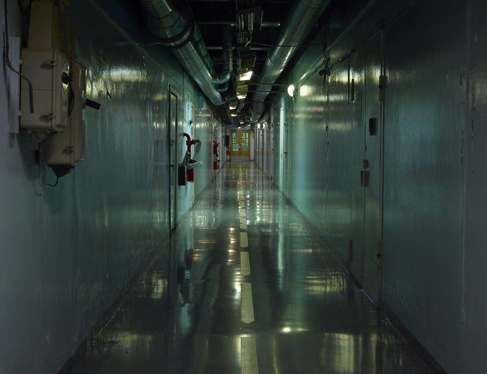 Inside the nuclear power plant