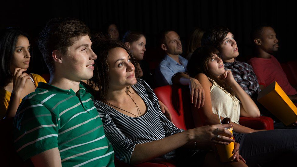 Audience at a cinema