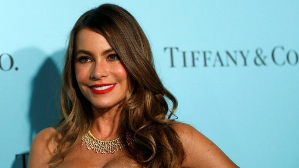 Sofia Vergara at the reopening of Tiffany's in Beverly Hills in October, 2016