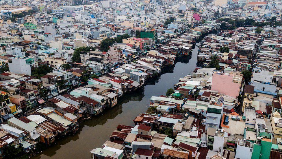 Ho Chi Minh City in southern Vietnam