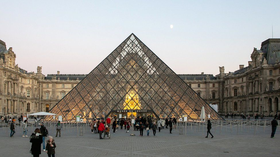 Paris Louvre Tops World List With Record 10m Visitors Bbc News