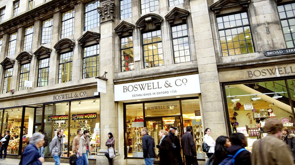 Boswells exterior