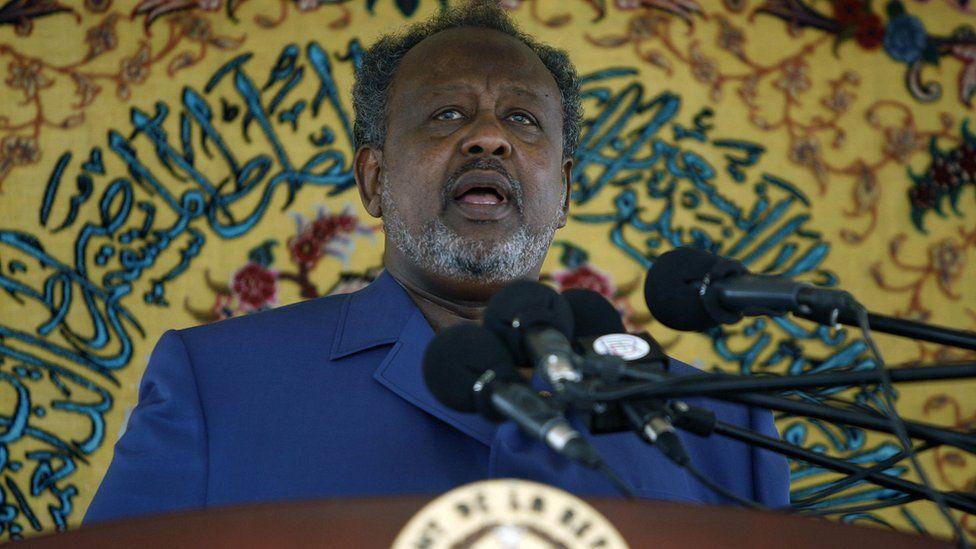 Djibouti's President Ismael Omar Guelleh