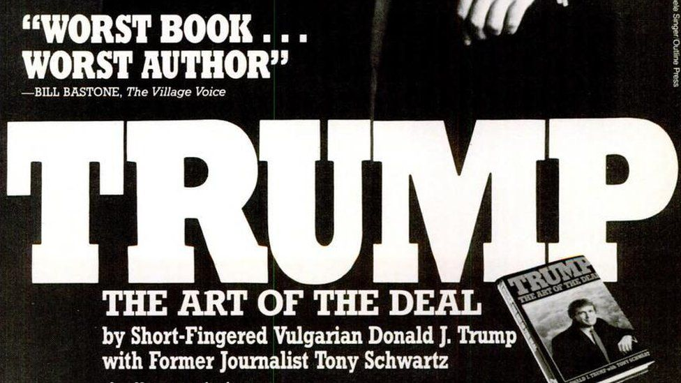 "Magazine describing Donald Trump as a ""Short-Fingered Vulgarian"""