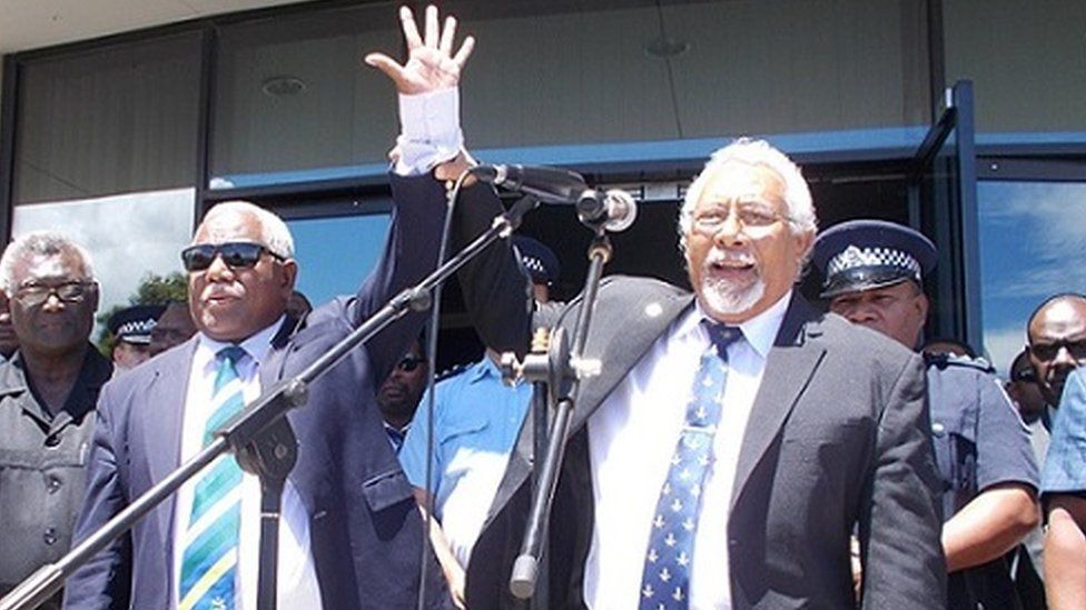 Solomon Islands PM Rick Hou
