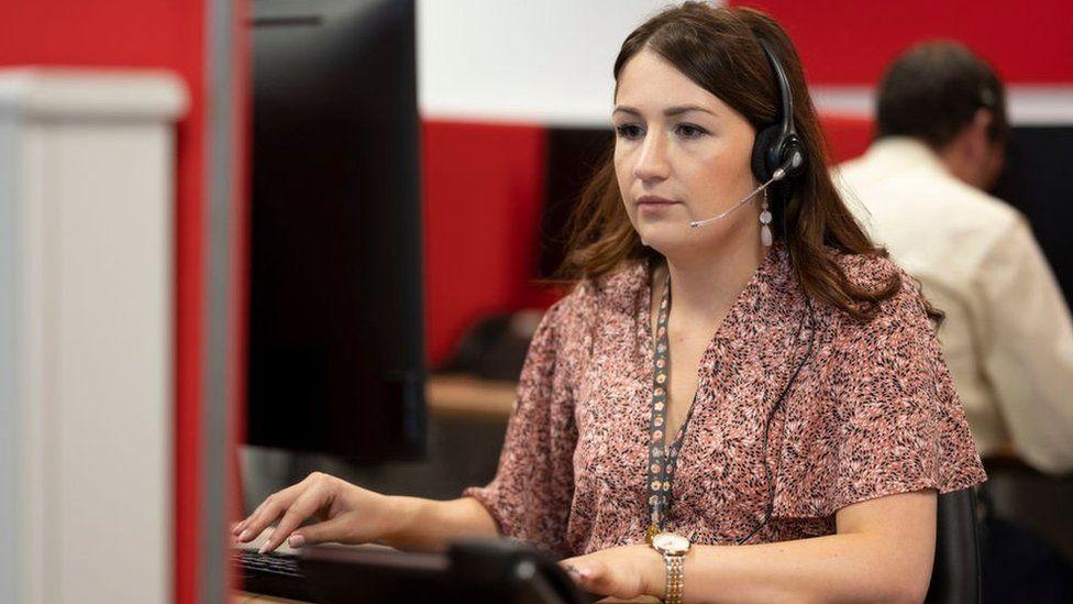 woman n office