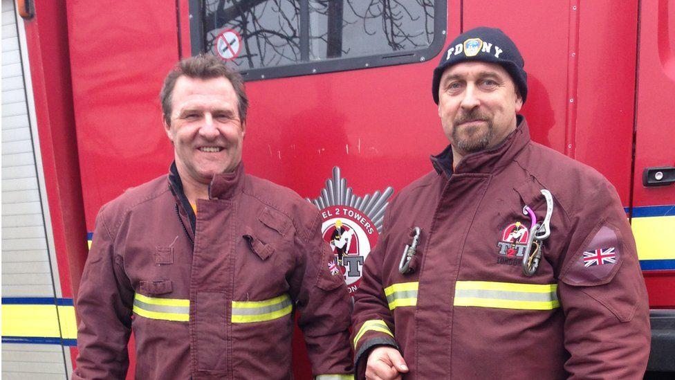 Steve James (right)