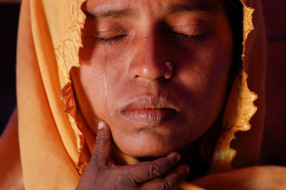 Roshid Jan, a Rohingya refugee in Bangladesh
