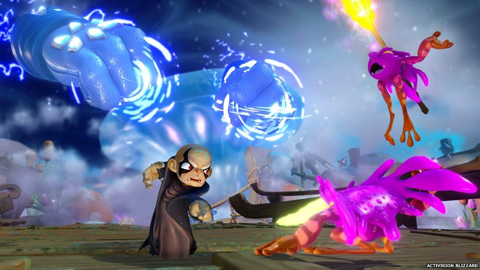 Gameplay form Skylanders: Imaginators