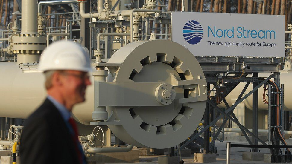 Nord Stream facility in Lubmin, Germany - 2011 file pic