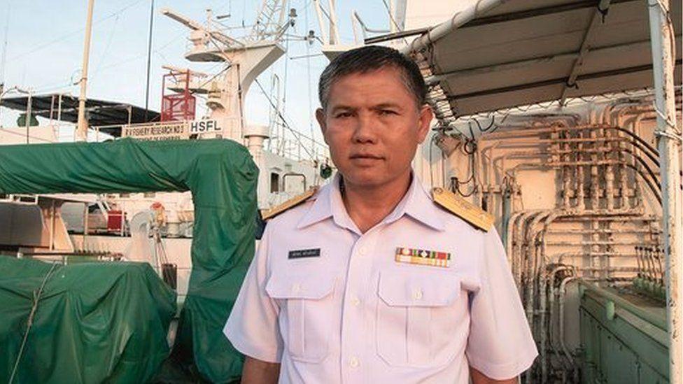 Captain Sathaporn Sawangpuk