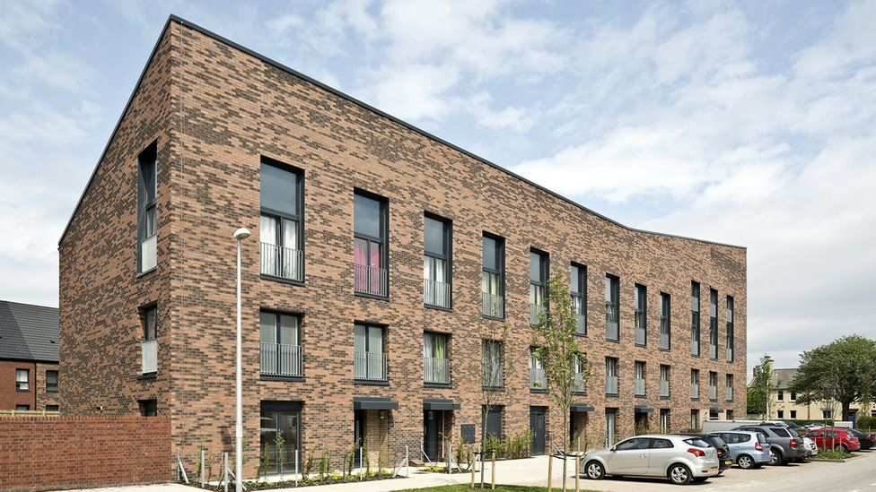 """Pennywell Residential Regeneration, Edinburgh - """"These apartment blocks are designed to be tenure """"blind"""", with no visual distinction between affordable rented and for sale"""""""