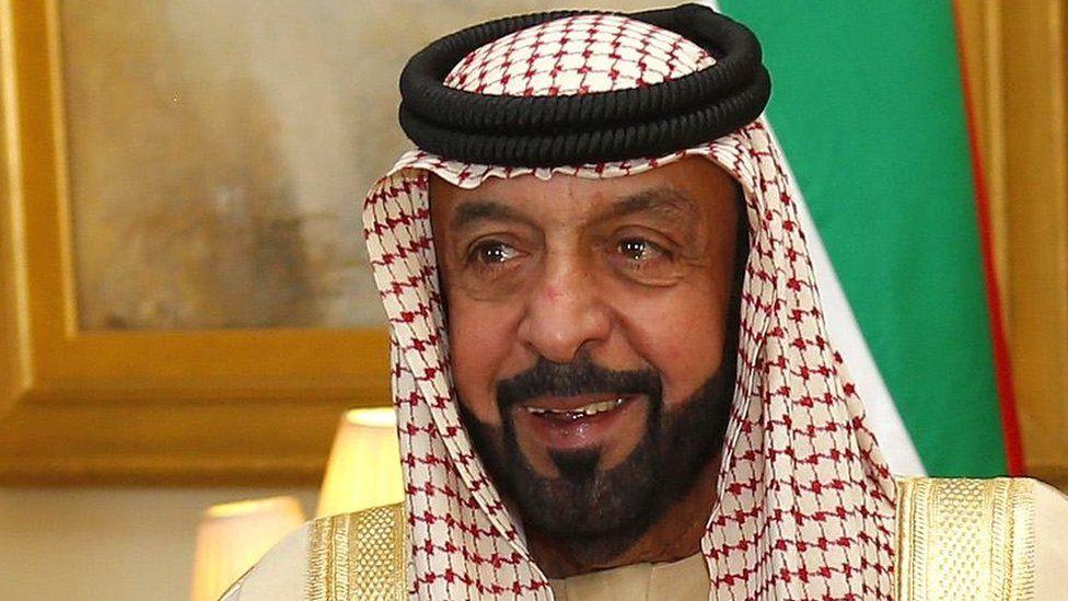 UAE's president, Sheikh Khalifa bin Zayed