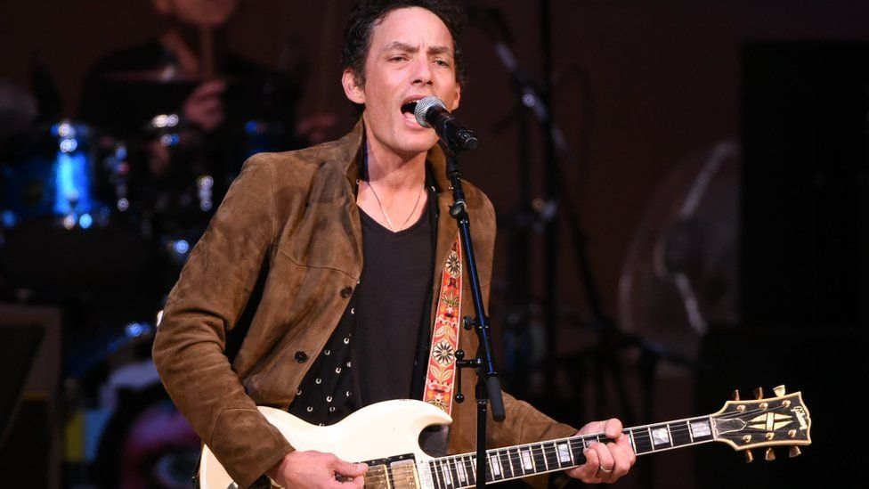 Musician Jakob Dylan performs at The Music of David Bowie tribute concert at Carnegie Hall