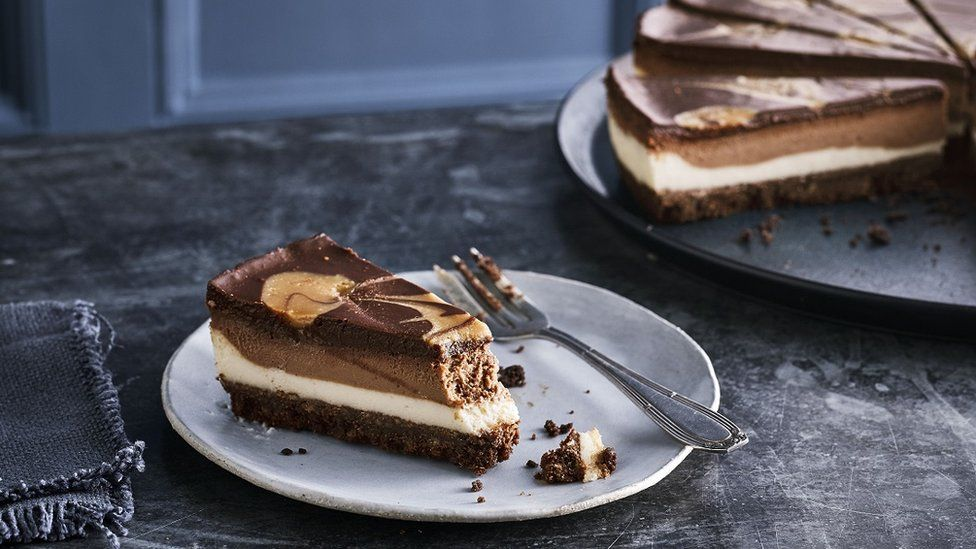 Caffe Nero's vegan chocolate cheesecake