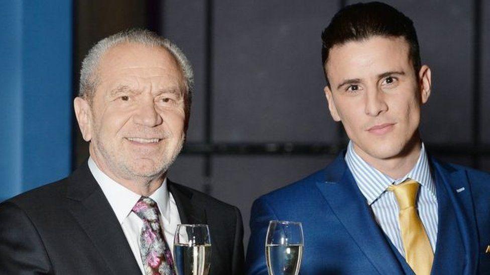 Lord Sugar and Joseph Valente
