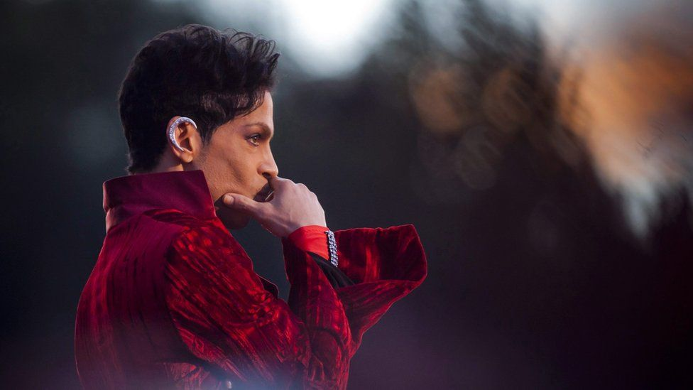 US musician Prince in 2011