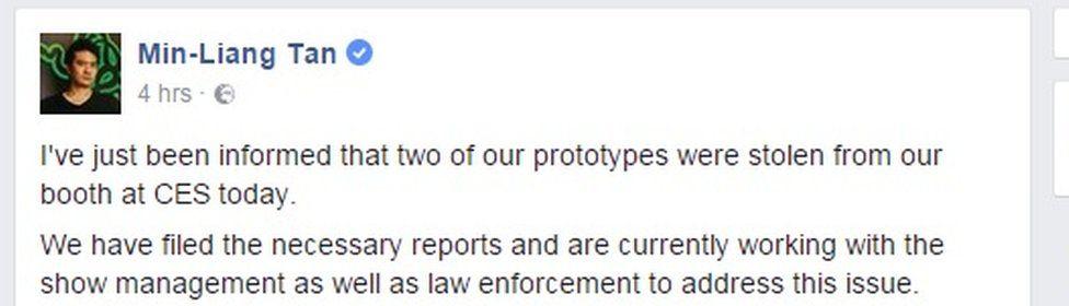 Razer Facebook statement