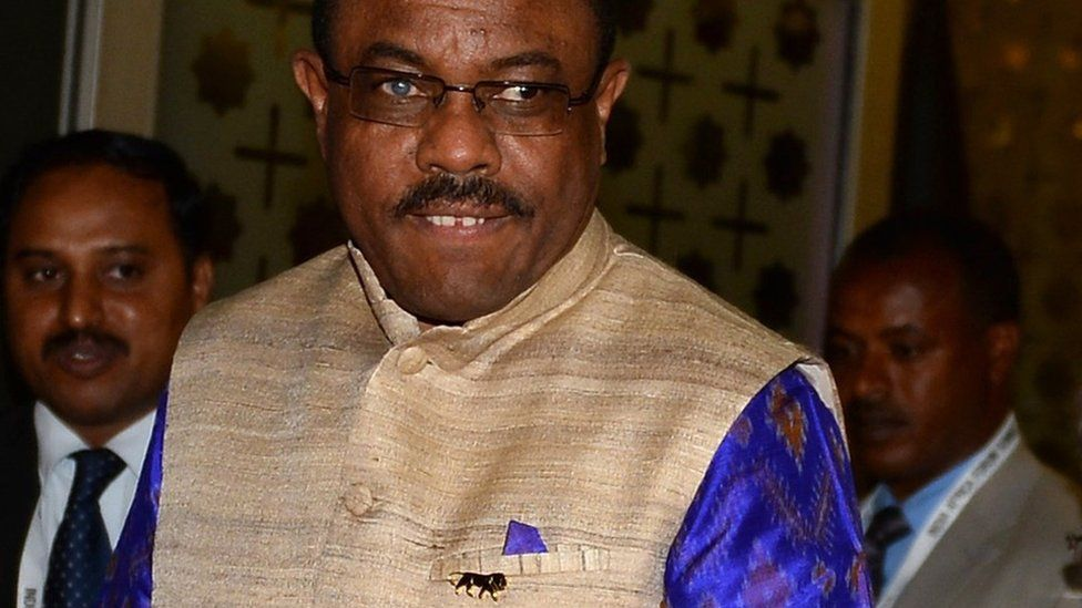 Hailemariam Desalegn - October 2015