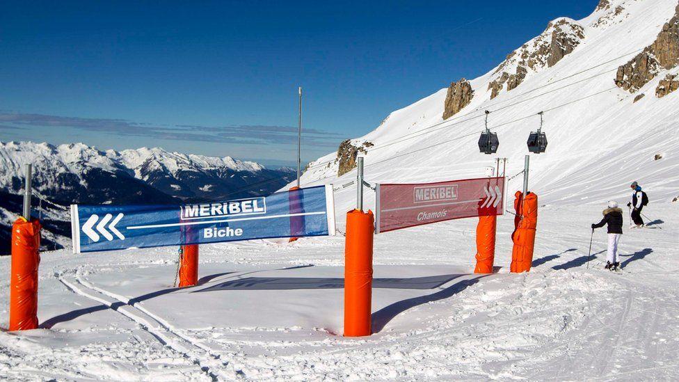 The ski resort of Méribel in the French Alps. (File pic)