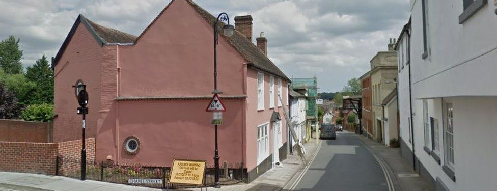 New Street/Chapel Street junction, Woodbridge