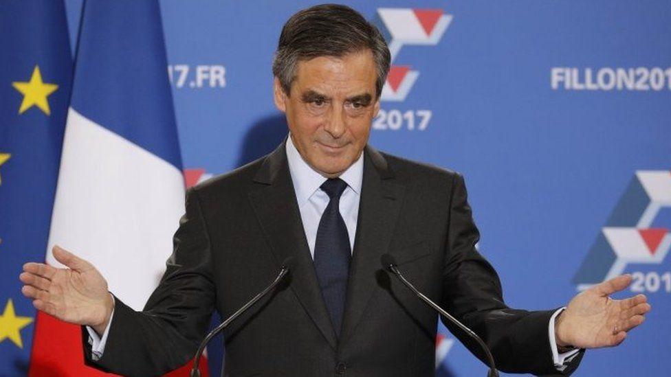 Francois Fillon in Paris. Photo: 27 November 2016