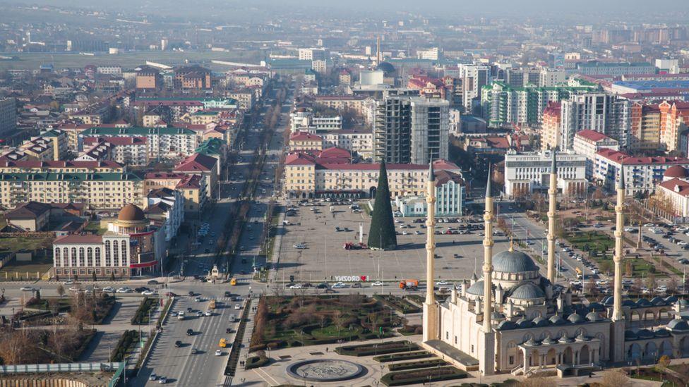Chechen capital Grozny, 2017