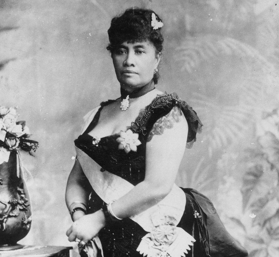 Queen Liliuokalani at Victoria's Golden Jubilee