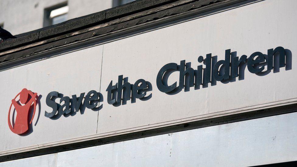 Save The Children shop front