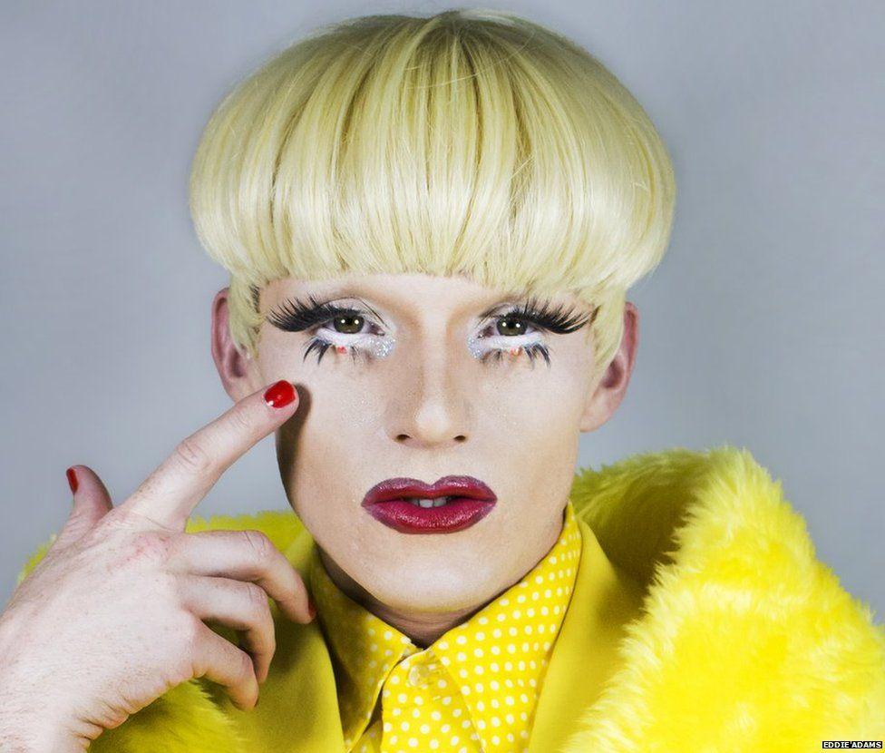 Drag artist Alfie Ordinary