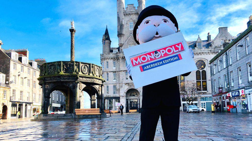 Mr Monopoly in Aberdeen
