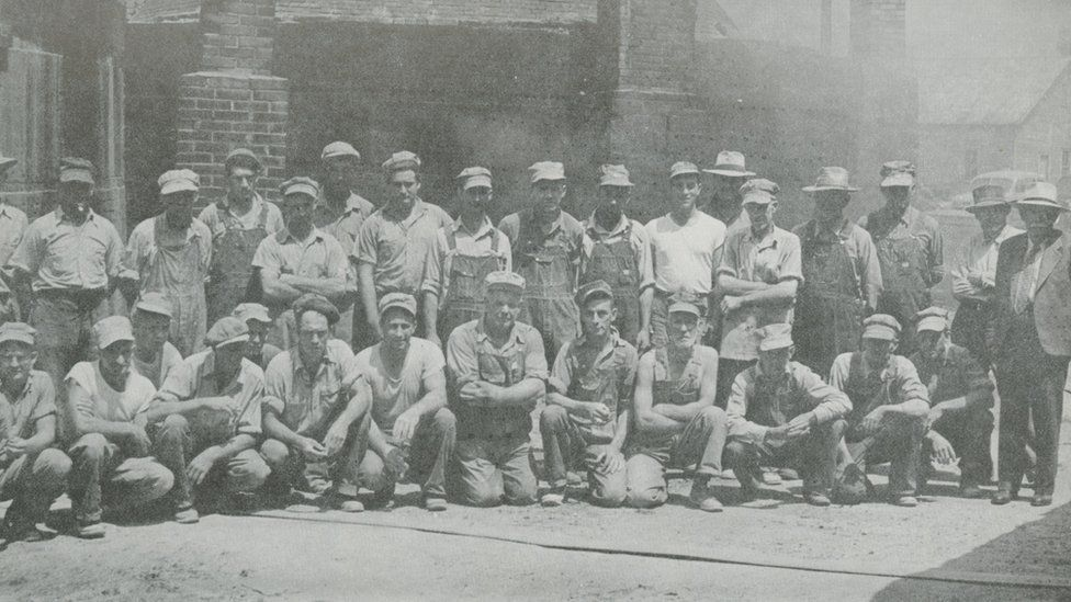Members of the The Ohio Fire Brick Co