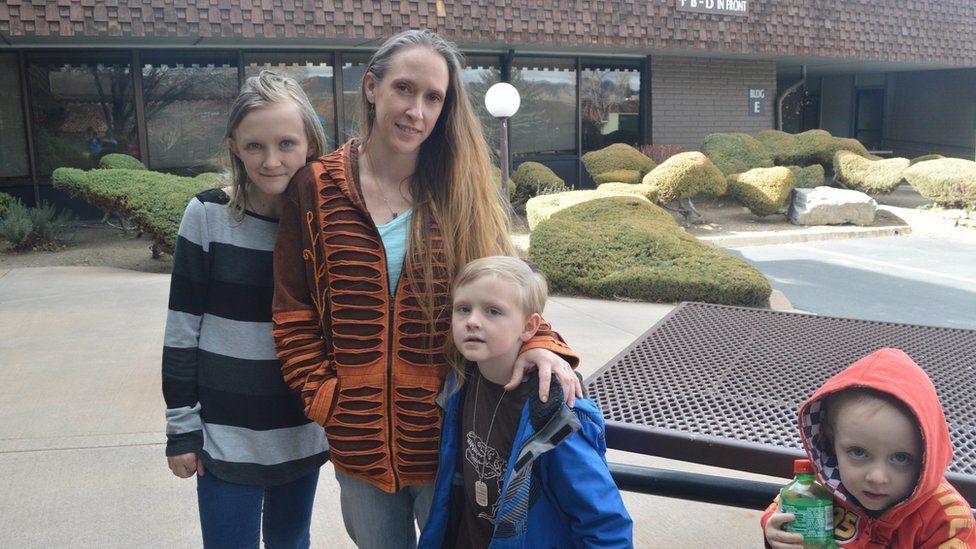 Adrielle and her children
