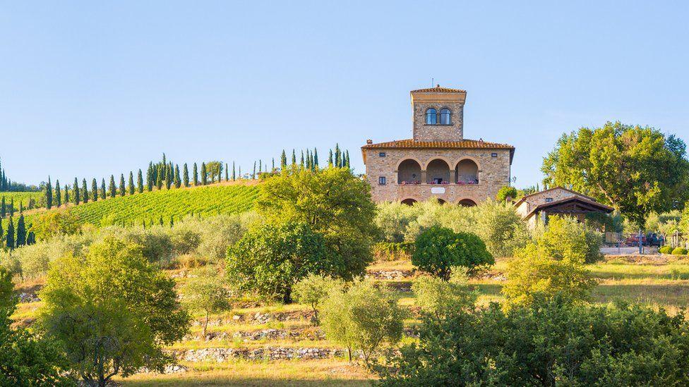 Castello in Tuscany