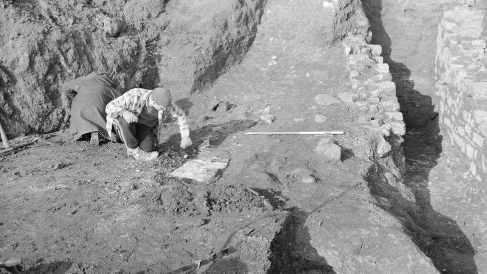 St Monans salt pan excavation