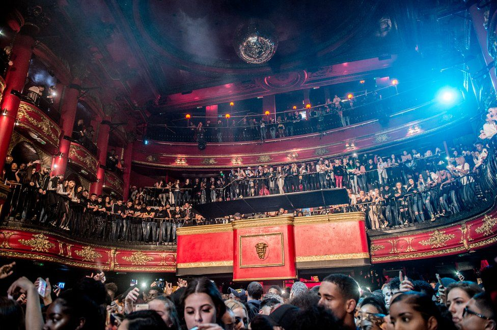 Crowd inside Koko