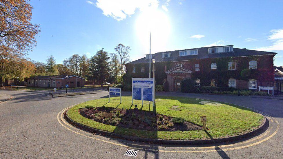 Hellesdon Hospital, HQ of Norfolk and Suffolk NHS Foundation Trust