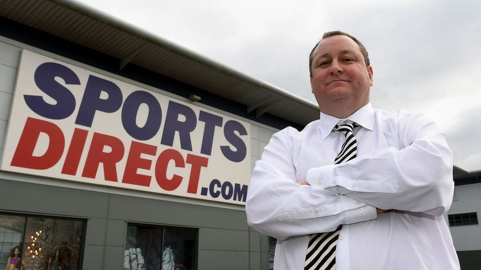 Sports Direct's Mike Ashley