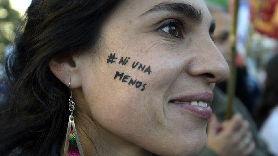NiUnaMenos campaign