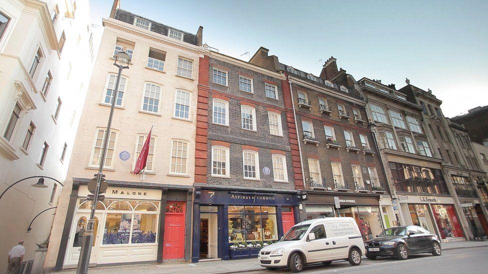 Jimi Hendrix flat in Brook Street
