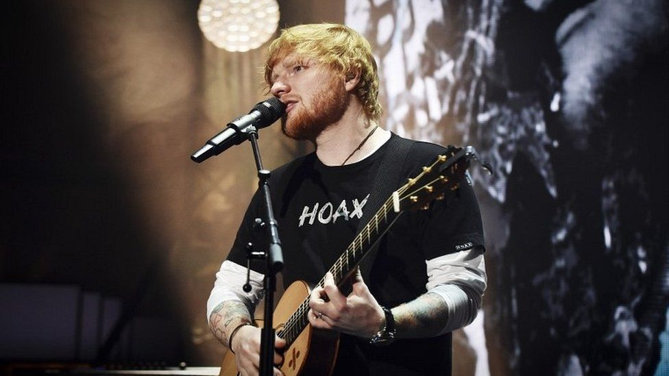 Ed Sheeran's pub signs allowed to stay at Suffolk home