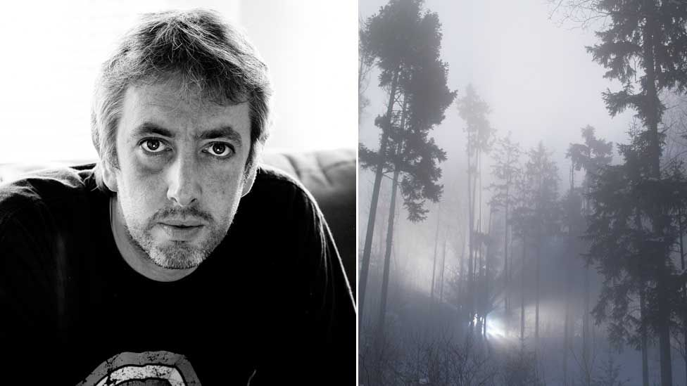 Julian Simpson and a forest