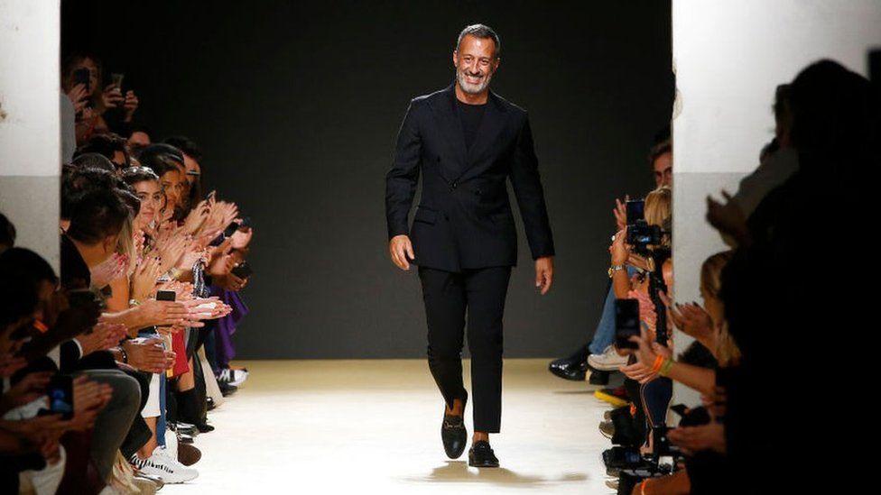 Luis at Lisbon Fashion Week last year