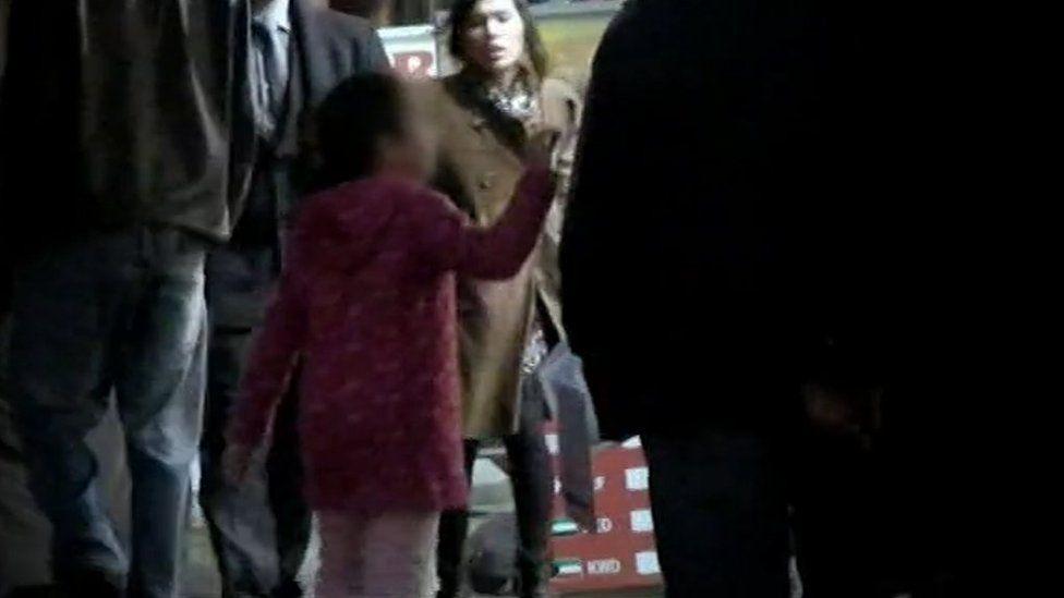 Screenshot from 2011 Panorama shows child begging