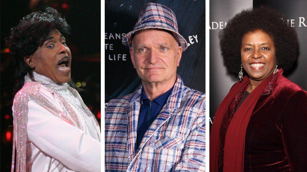 Little Richard, Florian Schneider and Betty Wright