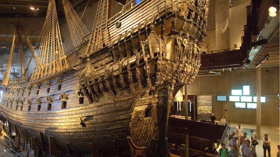 The Vasa ship in Sweden