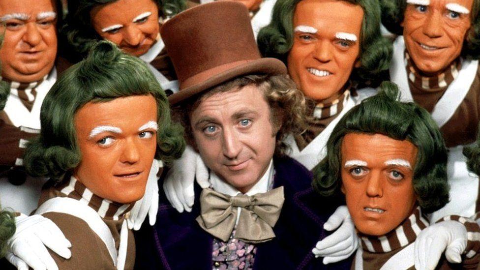 Gene Wilder as Willy Wonka