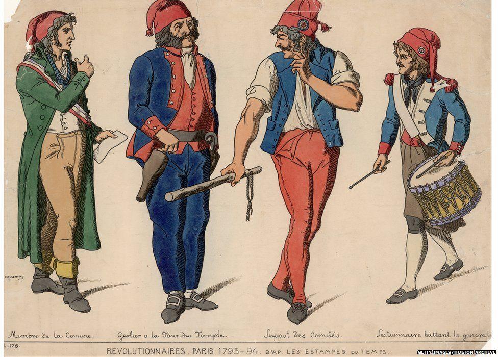 French revolutionaries